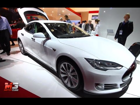 TESLA MODEL S 2015 - PARIS MOTOR SHOW 2014 - SALONE DI PARIGI 2014