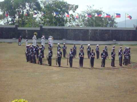 Maritime Academy of Asia and the Pacific - Silent Drill 2012 2