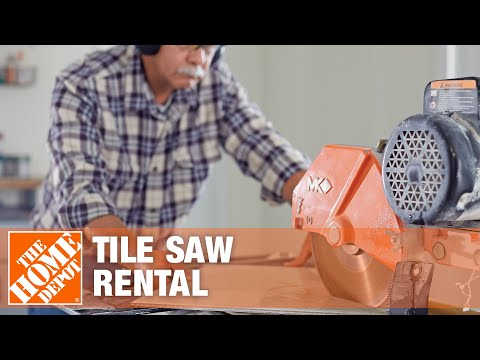 Rent A Tile Saw At Home Depot