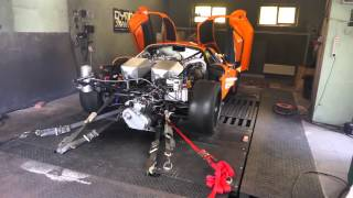 Super car Saleen S7 AWD Dyno Tune, 2200 AWHP 25PSI