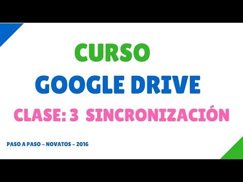Clase 3: Google Drive Español | Sincronización