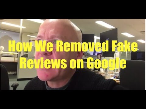 How To Remove Fake Reviews From Google