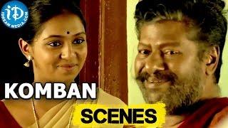 Komban Movie || Lakshmi Menon, Rajkiran Funny Drinking Scene