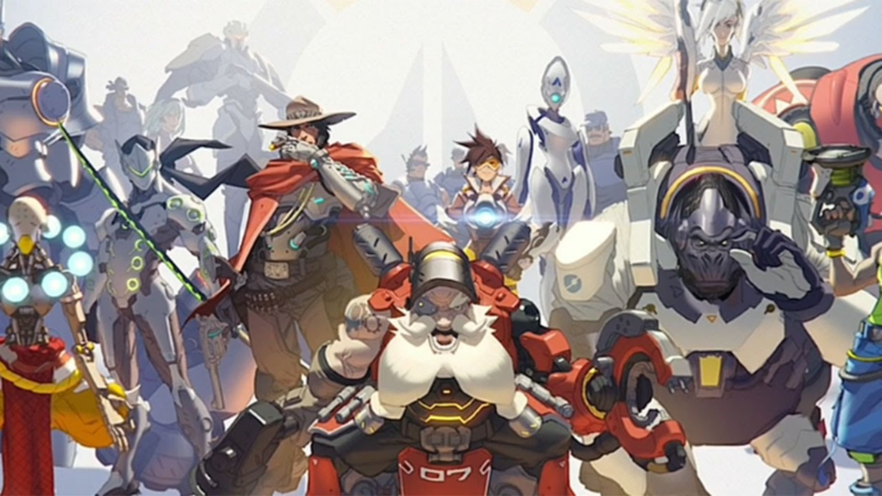 Overwatch: Numbani and Volskaya Industries Sizzle - Gamescom 2015