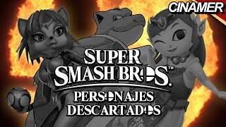 Top 8 Personajes Eliminados de Super Smash Bros.