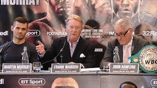 Murray v Garcia FIERY Press Conference - Boxing