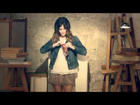 Rachel Bilson for Magnum Ice Cream: Art Class. By Karl Lagerfeld