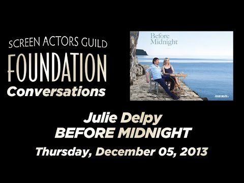 Conversations with Julie Delpy of BEFORE MIDNIGHT