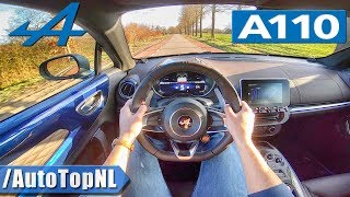Alpine A110 Légende w/ SPORT EXHAUST | POV Test Drive by AutoTopNL