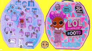LOL Surprise Winter Disco Big Sister Fashion Advent #OOTD Makeover Blind Bags