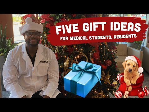 5 BEST GIFT Ideas for Medical Students + Residents