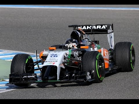 Force India VJM07 First Impressions (2014 Force India Car Reveal)