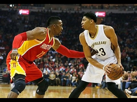 Anthony Davis Puts Up Double-Double in Win Against Rockets