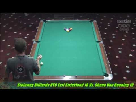 Shane Van Boening VS. Earl Strickland At Steinway Billiards Part 2