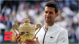 Novak Djokovic outlasts Roger Federer in epic five-set final | 2019 Wimbledon Highlights