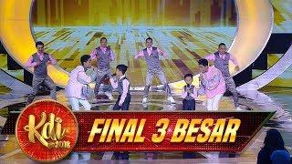 Download Lagu MusBrother Ft  Affan & Haikal [PANGERAN DANGDUT] - Final 3 Besar KDI (25/9) Gratis STAFABAND