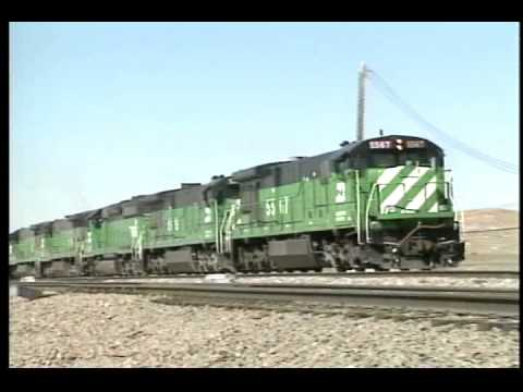 The amount of coal transported by rail each year continues to grow. The Burlington Northern and the Chicago & North Western benefit greatly by hauling this c...