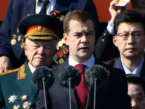 Russian Anthem at Victory Day Parade 2010