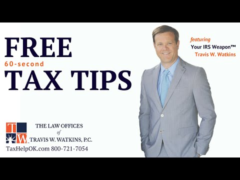 TAX TIP 7 Is there a way to settle penalties & interest?
