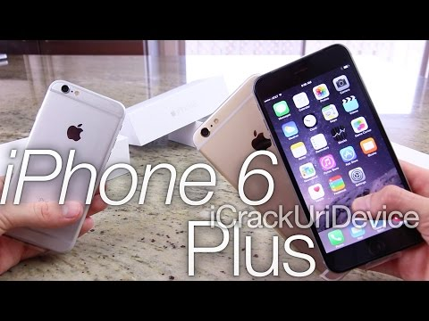 iPhone 6 Unboxing: iPhone 6 Plus vs iPhone 6 Review Comparison & Giveaway