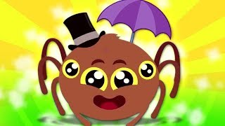 Itsy Bitsy Spider | KinToons Cartoons Video | Nursery Rhymes For Babies by Kids Baby Club