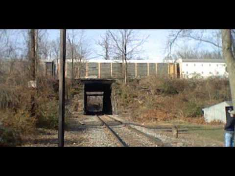 NS auto train in Hagerstown, MD