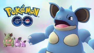 NUEVO EVENTO POR 1 DÍA, NIDORAN HEMBRA SHINY Y SUS EVOLUCIONES - Pokemon GO