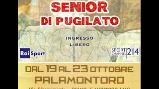 Torneo nazionale Senior 2016 - SEMIFINALI