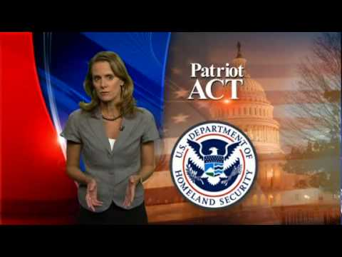 USA using Patriot Act against its own citizens