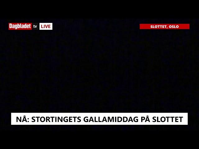 SE TV Kongen taler under gallamiddagen for Stortinget