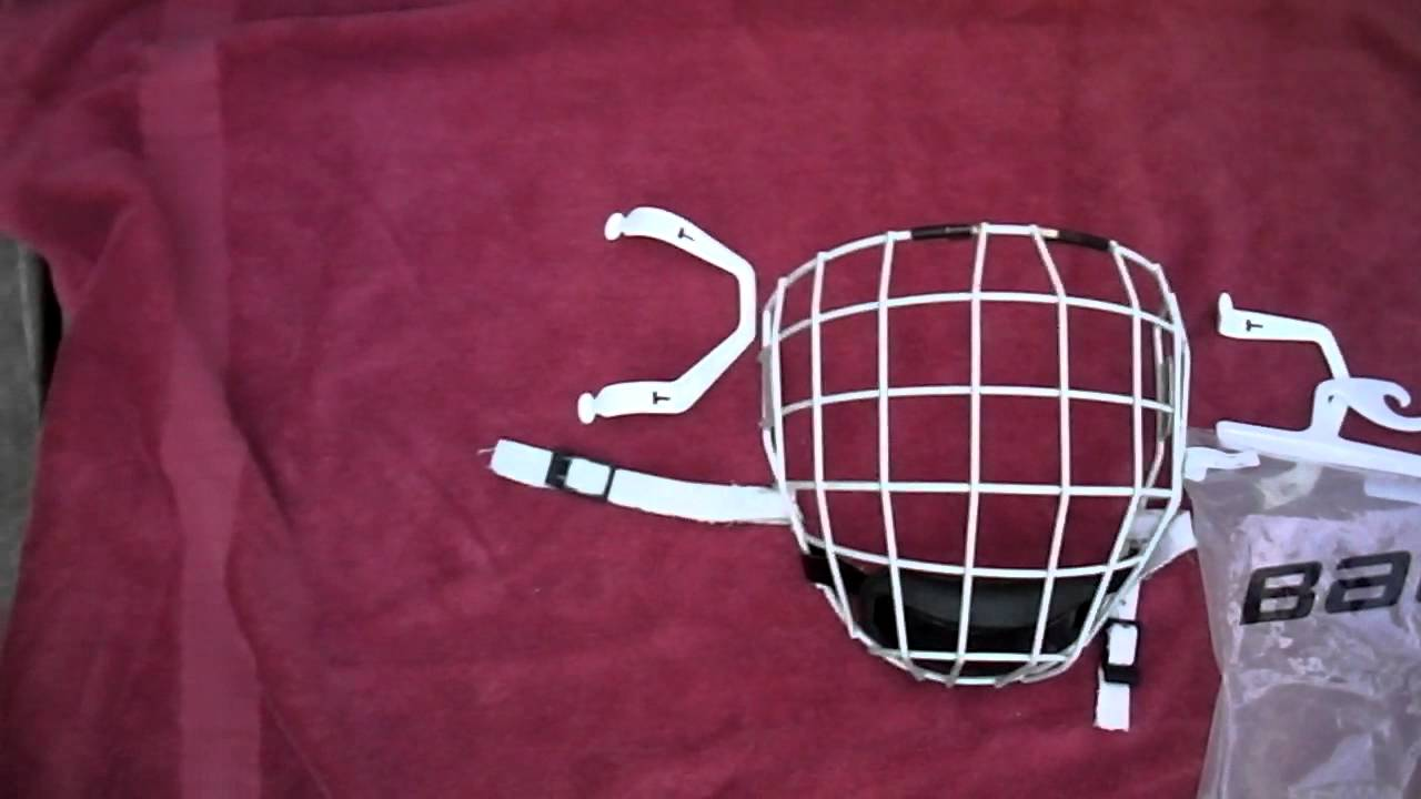 White Helmet White Cage Ccm Fm480 White Cage For Sale