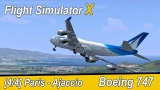 Microsoft Flight Simulator X Teil 949 Paris-Orly - Ajaccio | Boeing 747 | deutsch | Liongamer1