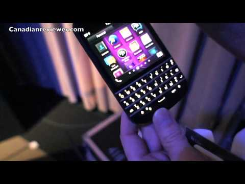 BlackBerry Q10 Smartphone Demo 2013