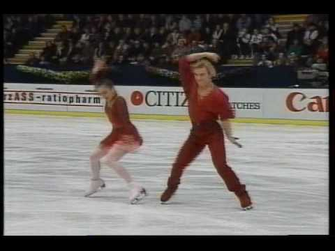 Usova & Zhulin (RUS) - 1993 European Figure Skating Championships, IFree Dance