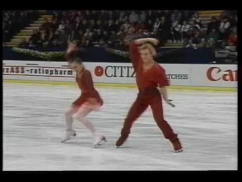 Usova & Zhulin (RUS) - 1993 European Figure Skating Championships, IFree Dance