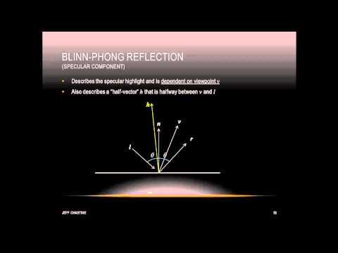 Tutorial 12 - Lighting in OpenGL