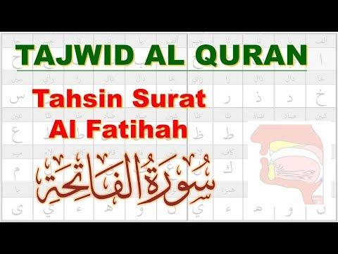 Belajar Tajwid Tahsin Surat Al Fatihah Aisar Ustadz