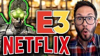Splinter Cell annoncé ?! Rockstar se renforce, le GamePass cartonne, Netflix à l'E3 2019