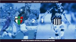 EN VIVO - Palestino vs Talleres de Córdova - Copa Libertadores #LaCopaXLaClave