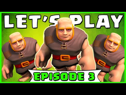 Clash of Clans - LET'S PLAY - Town Hall 5 Attack Strategy! (Ep. 3)