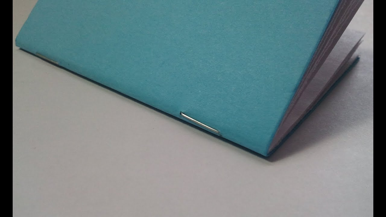 Book Binding Saddle Stitch Saddle Stitch Binding