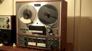 TEAC A-4010S Reel to Reel Tape Deck/Recorder serviced and working, New Belts. ZCUCKOO