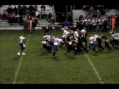 Brad Speet - 2011 Football Highlights - Senior Season - Saugatuck High School (Rev2)