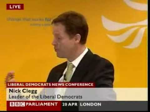 Andrew Neil quizzes Nick Clegg on expenses