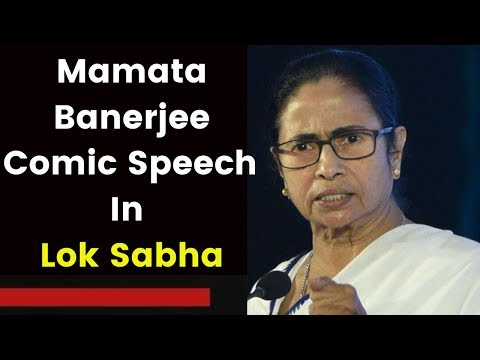 Comic moments by Mamata during Rail Budget
