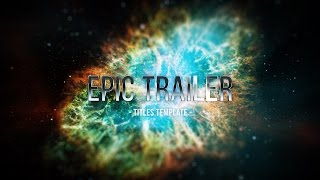 Epic Trailer Titles 3