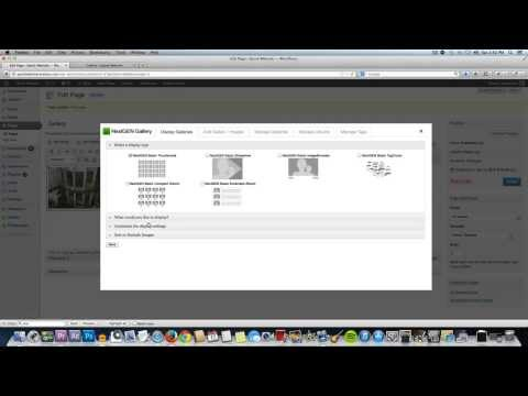 How to Use the NextGen Gallery Plugin for WordPress - 2013