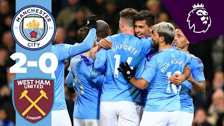 HIGHLIGHTS | MAN CITY 2-0 WEST HAM | RODRIGO, KEVIN DE BRUYNE