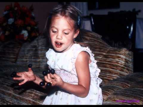 Angelina Jolie As Child