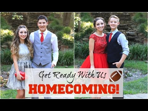 """Get Ready With Us"" HOMECOMING 2015"